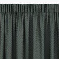Zavjesa LYGNE 1x140x300 žakard zelena