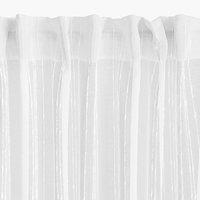 Zavjesa SKORPA 1x140x300 bijela