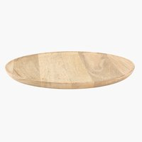 Decorative tray GERNER D30cm wood