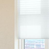Plisségardin HOVDEN 140x160cm hvid
