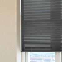 Plisségardin HOVDEN 100x160 grå