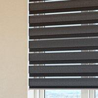 Estor doble ALSTEN 100x250 cm gris