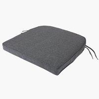 Coussin de chaise UDSIGTEN gris foncé