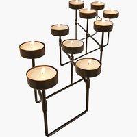 Teelichthalter INGMAR W23xL12xH12cm