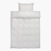 Duvet cover NELL sateen SGL white