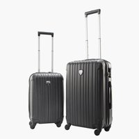 Valigia COMFORTRAVEL 2pz./set nero