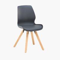 Cadeira jantar BOGENSE cinzento