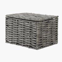 Caixa arrumação CASPERSEN L12xC16xA10cm