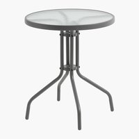 Bistro table BLOKHUS D60 grey