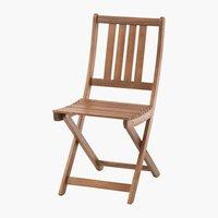 Chaise pliante EGELUND bois