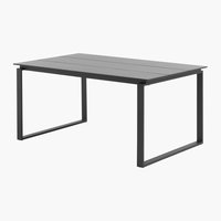 Table KOPERVIK l95xL160 gris