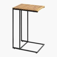 Side table BELDRINGE W30xL40xH61 wood