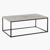 Tavolino DOKKEDAL 60x110 cm cemento