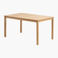 Table VESTERHAVET W90xL150 solid teak