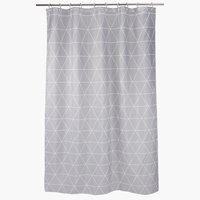 Zuhanyfüggöny GREBO 150x200 szürke