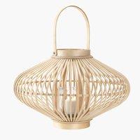 Lanterne GULSANGER Ø43xH28 bambus