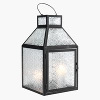 Lanterne HUMMER B22xL22xH40 sort