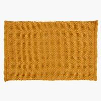 Tappetino bagno NOLVIK 50x80 giallo