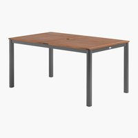 Table SAN FRANCISCO 90x150 bois