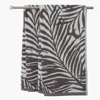 Bath towel HORDA 70x140 grey