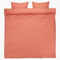 Duvet cover MARY KNG coral