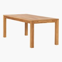 Dining table HAGE 90x190 royal oak