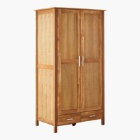 Armario NEW OAK 97x190 natural/roble