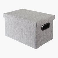 Aufbewahrungsbox ALINA 20x30x18cm grau