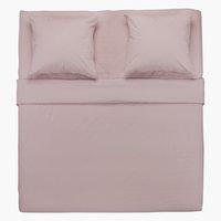 Conjunto lençóis ELLEN 240x280 roxo