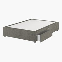 Divan 135x190 GOLD D10 2 drw Grey-50
