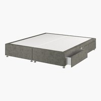 Divan 180x200 GOLD D10 4 drw Grey-50