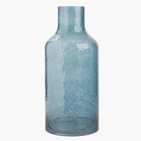 Jarrón HEINO Ø18xA40 cm azul