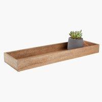 Dekotablett BILL B15xL50cm Holz
