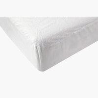 Lenzuolo impermeabile 90x200x20cm bianco