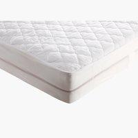 Protector colchón 150x190cm blanco