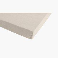 Jersey-Spannleintuch 180x200x30 beige