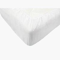 Proteggi materasso 160x200cm bianco
