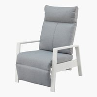 Chaise inclinable VONGE blanc
