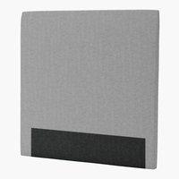 Sänggavel 120x125 H30 CURVE grå-32