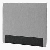 Sänggavel 140x125 H30 CURVE grå-32