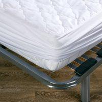 Protector colchón 150x190x20 cm blanco