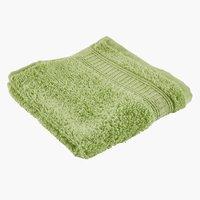 Toalha rosto KRONBORG DE LUXE verde