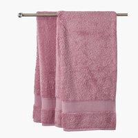 Lençol banho KRONBORG DE LUXE rosa