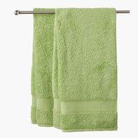 Asciugamano ospiteKRONBORG DE LUXE verde