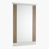 Espejo ORLANDO 60x100 blanco/gris
