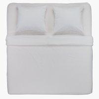 Conjunto lençóis DANA 260x300 branco