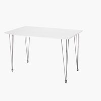 Mesa jantar FABIAN 76x120 branco