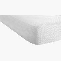 Protector colchón 90x200x20cm blanco