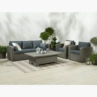 Lounge set VEMB 5 pers. grey