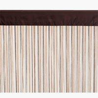 String curtain NISSER 90x300 brown multi